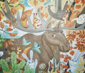 Выставка «Сказки в красках»
