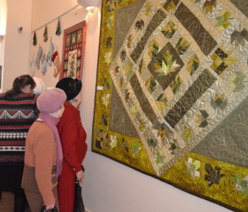 "Exhibition of works by N. Kuznetsova, an artist of decorative and applied art, ""Quile of happiness"""